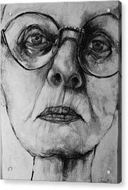 Ana  Acrylic Print by Jean Cormier