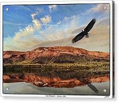 Ana Reservoir  Summer Lake Acrylic Print
