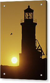 Anacapa Lighthouse And Sunrise Acrylic Print