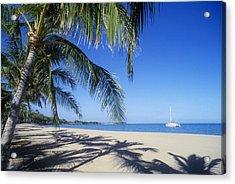 Anaehoomalu Bay Acrylic Print by Greg Vaughn - Printscapes