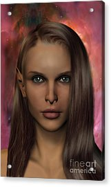 Anaire Child Of Iluvatar Acrylic Print by John Edwards
