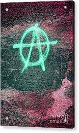 Anarchy In Tallinn Acrylic Print by Todd Breitling