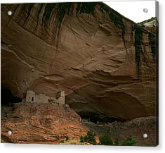 Anasazi Indian Ruin Acrylic Print by Cliff Wassmann