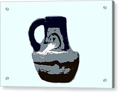 Anasazi Jug Acrylic Print by David Lee Thompson