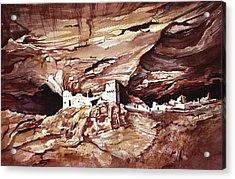 Anassasi Wall Ruins Acrylic Print