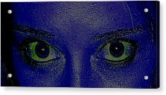 Anatomy Of The Eyes Acrylic Print by Debbie May
