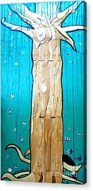 Ancestral Tree Indians To The Sea Acrylic Print