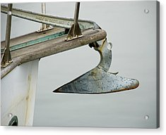 Sailboat Anchor Acrylic Print