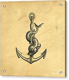 Anchor Vintage Acrylic Print