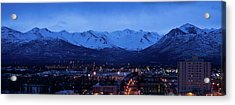 Anchorage At Sunrise Acrylic Print