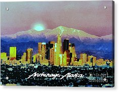 Anchorage-subdued Acrylic Print
