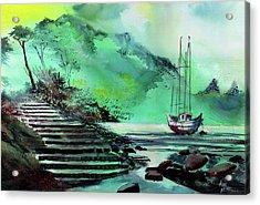 Anchored Acrylic Print