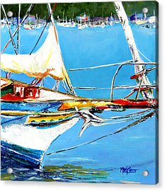 Anchored Acrylic Print by Marti Green