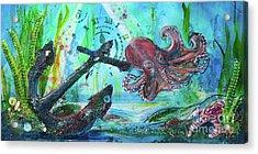 Anchors Away Acrylic Print