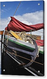 Anchors Up Acrylic Print by Robert Lacy