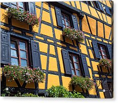 Ancient Alsace Auberge Acrylic Print