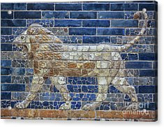 Ancient Babylon Lion Acrylic Print