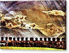 Ancient Citadel Acrylic Print by Andrea Barbieri