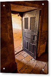 Ancient Door Acrylic Print