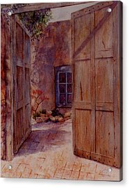 Ancient Doors Acrylic Print