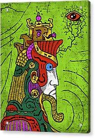 Acrylic Print featuring the digital art Ancient Egypt Pharaoh by Sotuland Art