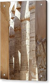 Acrylic Print featuring the photograph Ancient Egypt by Silvia Bruno