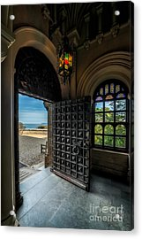 Ancient Entrance Acrylic Print by Adrian Evans