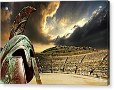 Ancient Greece Acrylic Print by Meirion Matthias