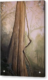 Acrylic Print featuring the painting Ancient Life by Rachel Hames