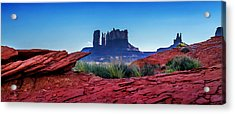Ancient Monoliths Acrylic Print by Az Jackson