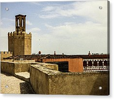 Ancient Moorish Citadel In Badajoz, Spain Acrylic Print