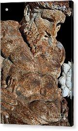 ancient nudes photograph - Atlas Shrugged Acrylic Print