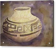 Ancient Pottery Acrylic Print