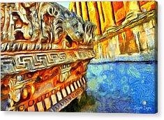 Ancient Remembrances - Pa Acrylic Print by Leonardo Digenio