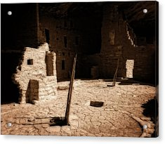 Acrylic Print featuring the photograph Ancient Sanctuary by Kurt Van Wagner