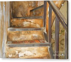 Ancient Stairway Acrylic Print