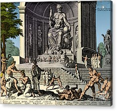 Ancient Wonder Of The World, Zeus Acrylic Print by Science Source