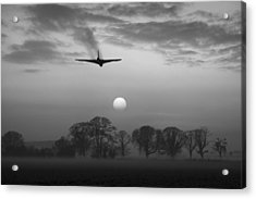 And Finally Black And White Version Acrylic Print