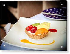 Acrylic Print featuring the photograph And For Dessert... by Jason Smith