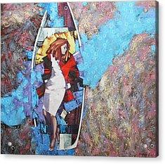 Acrylic Print featuring the painting And I Dreamed by Anastasija Kraineva