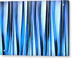 And Thats Why They Call It The Blues Acrylic Print by Tracey Harrington-Simpson
