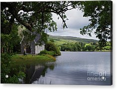 And The Land Was Very Broad, Quiet, And Peaceful Acrylic Print