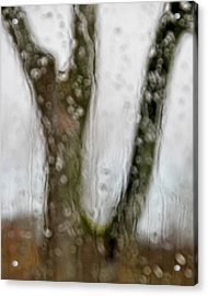 And The Rains Came Acrylic Print by Odd Jeppesen