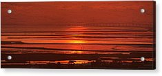 Acrylic Print featuring the photograph And The Sea May Look Warm To You Babe by Peter Thoeny