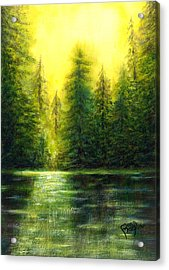 ...and There Was Morning Acrylic Print