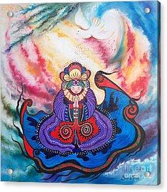 Flygende Lammet      And We Pray Acrylic Print