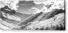 Acrylic Print featuring the photograph And You Feel The Scene by Jon Glaser