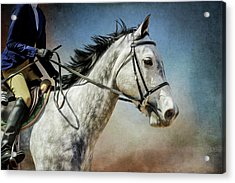 Acrylic Print featuring the photograph Andalucian Blue by Debby Herold
