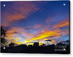 Andalusian Sunset Acrylic Print
