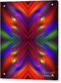 Acrylic Print featuring the digital art Andee Design Abstract 1 2015 by Andee Design
